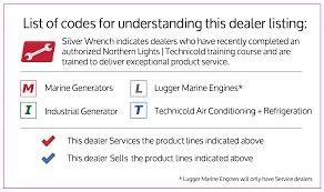 dealers u2013 northern lights marine generators and technicold air
