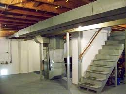 painting unfinished basement walls and stair painting unfinished