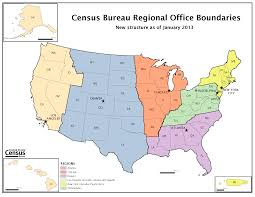 United States Map By Region by Map Of New Regional Office Structure Effective January 1 2013