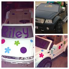 barbie jeep power wheels before and after power wheels make over plastic spray paint and