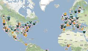 cat map an interactive map of all the cats in the world