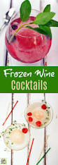 how to make frozen wine cocktails for your end of summer bash