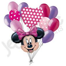 minnie s bowtique disney minnie mouse bow tique inspired balloon bouquet
