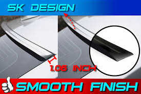 04 08 painted acura tl iii sk design roof spoiler all color