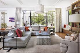 Area Rugs For Family Room Living Room Contemporary With Orange - Family room rugs