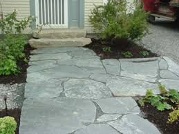 Irregular Stone Patio Vermont Blue Stone Quarry Wall U0026 Patio Stone Available