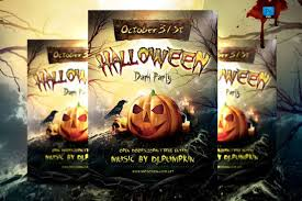 check out halloween party flyer template by briell on creative