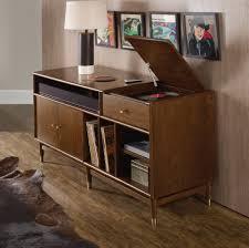 tv studio desk hooker furniture home entertainment studio 7h lp record player