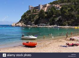 ibiza balearics spain small resort of port de sant miquel