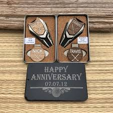 5 year anniversary gift 5th anniversary gift personalized golf marker divot