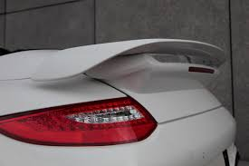 porsche spoiler techart aerodynamic kit ii for porsche 911 turbo