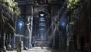 Concept Artist Job Description Aion Concept Art Artist Unknown Temple Illustration Castle