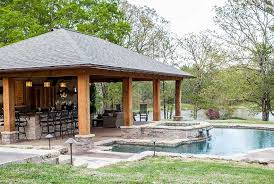 house plans with pools and outdoor kitchens outdoor pool and fireplace designs swimming pools outdoor