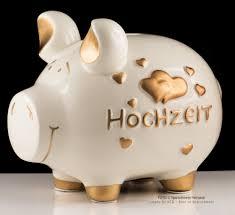 hochzeitsgeschenk spardose kcg sparschwein hochzeit mit herzen xl