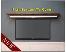 Decorative Flat Screen Tv Covers Pull Down Map Etsy