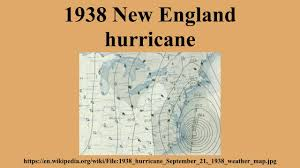 Weather Map New England by 1938 New England Hurricane Youtube