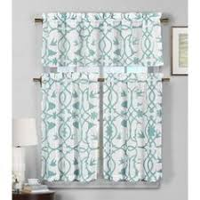 24 Inch Kitchen Curtains Reef Marine Knitted Lace Kitchen Curtains 24 Inch 36 Inch Kitchen