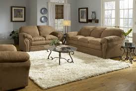 light gray walls with brown leather couch brown sofas cream