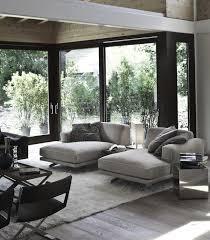 contemporary family room light grey hardwood floor ideas modern