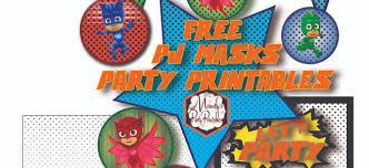 pj masks archives mandy u0027s party printables