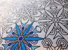 snowflakes christmas mandala candyhippie coloring pages