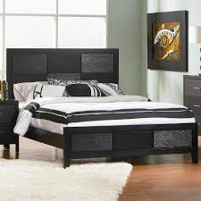 coaster furniture 201651q grove contemporary queen bed black