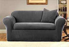 couch slipcover seat sofa slipcovers with separate cushion covers