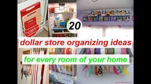 Organizing Store 20 Dollar Store Organizing Ideas For Every Room Of Your Home Youtube