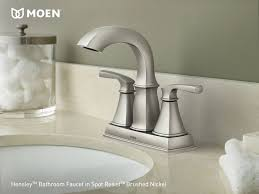 Moen Brushed Nickel Faucets 93 Best Bathroom Images On Pinterest Bathroom Ideas Bathroom