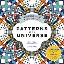 amazon com patterns of the universe a coloring adventure in math