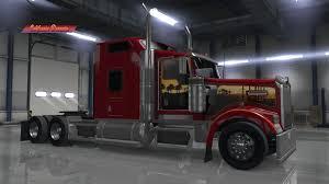 w900 california dreamin custom skin u2013 kenworth w900 american truck