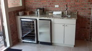 Outdoor Stainless Steel Kitchen - refrigerator for outdoor kitchen kitchen decor design ideas