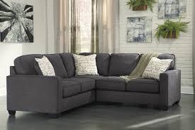 Charcoal Living Room Furniture Alenya Charcoal 2 Piece Sectional Sofa For 625 00 Furnitureusa