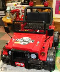 kids red jeep kid trax jeep kids ride on toy with battery u0026
