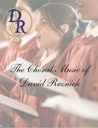 bid me bid me no more goodnight the choral of david reznick