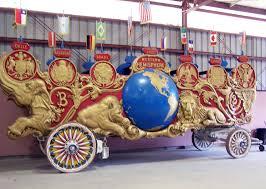 Barnes And Bailey Circus 1903 Barnum U0026 Bailey Two Hemispheres Bandwagon Antiquecarousels Com