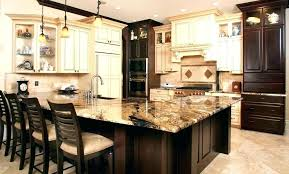 painted kitchen islands brown kitchen island sowingwellness co