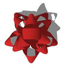 ribbons and bows 3d model formfonts 3d models textures