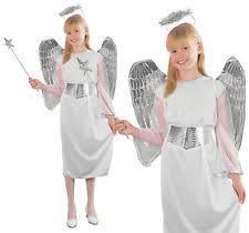 Chip Costume Ebay Childrens Angel Costume Angel Fancy Dress Ebay
