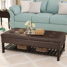 padded coffee table cover padded coffee table ottoman wayfair