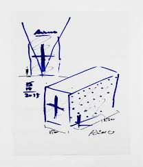spontaneous design napkin sketches by an array of architects