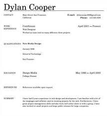Best Resume Builder App Free Resume Builder Online No Cost Resume Template And