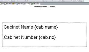 creating a shipping label from an assembly sheet template