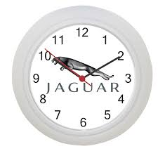 jaguar logo wonderful jaguar logo wall clock wall clocks pinterest