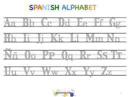 Spanish To English Worksheets Spanish Lesson For Kids Learning The Alphabet With Pictures