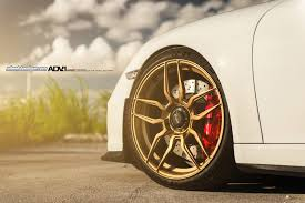 porsche gold white porsche 911 gt3 rocking gold adv 1 wheels gtspirit