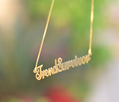 Make Your Own Name Necklace Trendsurvivor Onecklace My New Personalized Name Jewelry