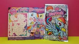 Mlp Blind Bag My Little Pony Stickers Mlp Blind Bags Videos For Kids Video By