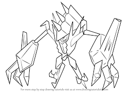 coloring pages pokemon sun and moon learn how to draw necrozma from pokemon sun and moon pokémon sun