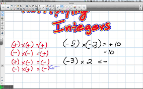 multiplying and dividing integers grade 8 nelson lesson 6 1 and 6